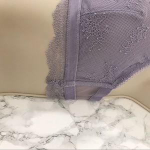 Victoria's Secret Intimates & Sleepwear - Victoria's Secret Lavender Bralette Lace Bra